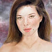 Beautiful Actress Jeananne Goossen Updated Version Art Print
