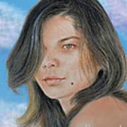 Beautiful And Sexy Actress Jeananne Goossen IIi Altered Version Art Print