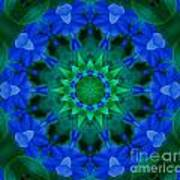 Beautiful Blue Art Print by Annette Allman