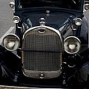 Beautiful Classic Car Front View Art Print