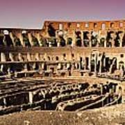 Beautiful Colosseum Rome Art Print
