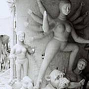 Surreal Kolkata Art Print