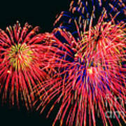 Beautiful Fireworks 14 Art Print