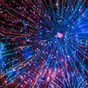 Beautiful Fireworks  2 Art Print