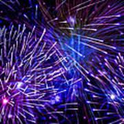 Beautiful Fireworks  3 Art Print