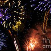 Beautiful Fireworks 5 Art Print