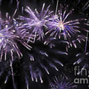 Beautiful Fireworks 7 Art Print