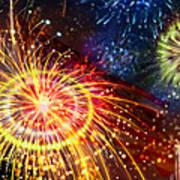 Beautiful Fireworks 8 Art Print