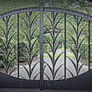 Beautiful Gate Art Print