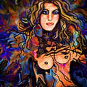 Beautiful Goddess Art Print