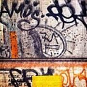 Beautiful Graffiti  Art Print