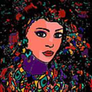Beautiful Gypsy Art Print