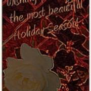 Beautiful Holiday Season Art Print