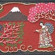 Beautiful Japan Art Print by Otil Rotcod