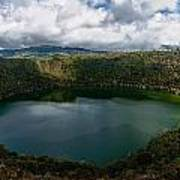 Beautiful Lake Guatavita Art Print