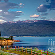 Beautiful Lake View Art Print
