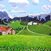 Beautiful Norway Art Print