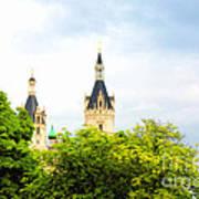 Beautiful Schwerin Castle Art Print