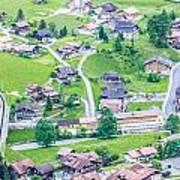 Beautiful Village Lauterbrunnen Art Print