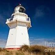 Beautiful Waipapa Point Lighthouse The Catlins Nz Art Print