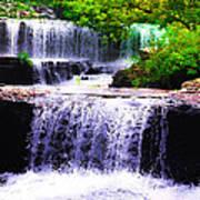 Beautiful Waterfall Art Print