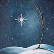 Beautiful Winterland By Shawna Erback Print by Shawna Erback
