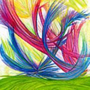 Beauty Gives Joy Art Print by Kelly K H B