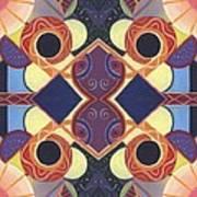 Beauty In Symmetry 1 - The Joy Of Design X X Arrangement Art Print