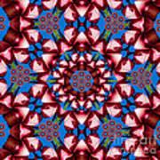 Beauty Of Aruba Kaleidoscope Art Print