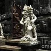 Beauty Of Bali Indonesia Statues 1 Art Print