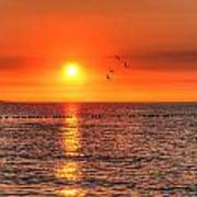 Beauty Sunset Art Print
