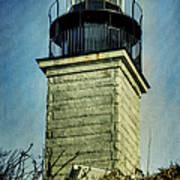 Beavertail Lighthouse  Art Print
