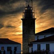 Beavertail Lighthouse Too Art Print