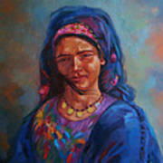 Bedouin Woman Art Print