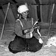 Bedouin Woman Art Print
