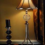 Bedroom Lamp Art Print