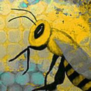 Bee Aware Art Print