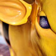 Bee Bullseye Art Print