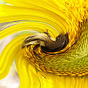 Bee Twirl Art Print