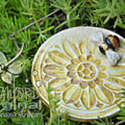 Bee-ware Art Print by Amanda  Sanford
