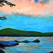 Beech Hill Pond Art Print