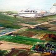 Beechcraft Bonanza Art Print