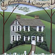 Beekeeper's Cottage Art Print