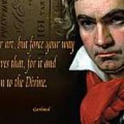 Beethoven  Art Print