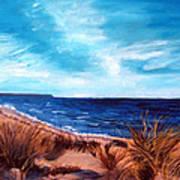 Before The Tumble At Chapin Beach Art Print
