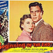 Beginning Of The End 1957 Art Print