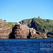 Behind Fort Amherst Rock 2 By Barbara Griffin Art Print