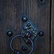 Behind Locked Doors Art Print