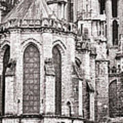 Behind The Cathedral Art Print