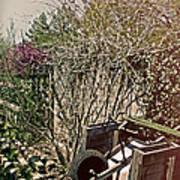 Behind The Garden Art Print